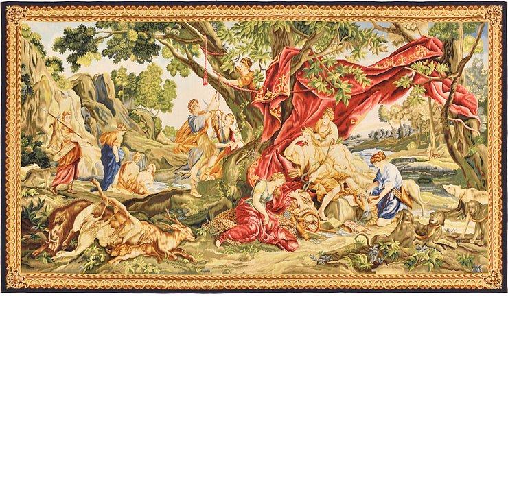 6' 3 x 11' Tapestry Rug