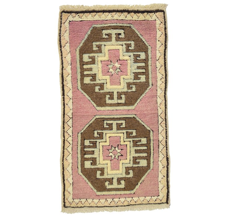 HandKnotted 1' 9 x 3' 2 Kars Rug
