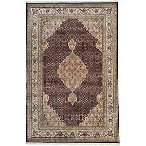 6' 7 x 9' 11 Tabriz Oriental Rug