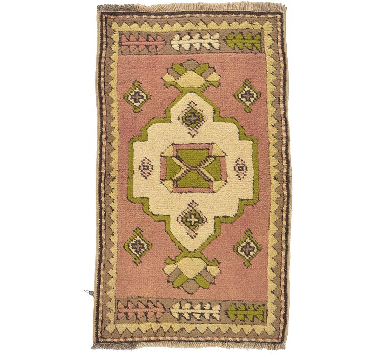 HandKnotted 1' 10 x 3' 1 Kars Rug