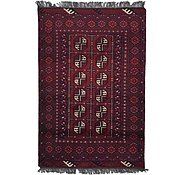 Link to 3' 3 x 4' 8 Afghan Akhche Rug