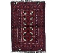 Link to Unique Loom 3' 3 x 4' 9 Afghan Akhche Rug