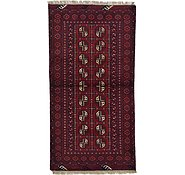 Link to 3' 5 x 6' 4 Afghan Akhche Rug