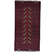 Link to Unique Loom 3' 4 x 6' 6 Afghan Akhche Rug