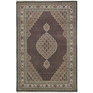 6' 1 x 9' Tabriz Oriental Rug