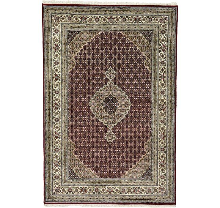 6' 6 x 9' 9 Tabriz Oriental Rug