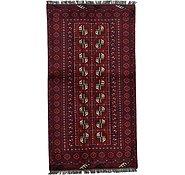 Link to 3' 3 x 6' Afghan Akhche Rug