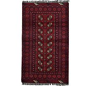 Link to 3' 5 x 5' 11 Afghan Akhche Rug