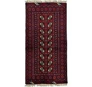 Link to 3' 4 x 6' 6 Afghan Akhche Rug