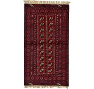Link to 3' 4 x 6' Afghan Akhche Rug
