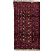 Link to 3' 5 x 6' 2 Afghan Akhche Rug