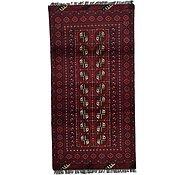 Link to 3' 3 x 6' 3 Afghan Akhche Rug