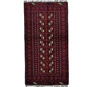 Link to 102cm x 190cm Afghan Akhche Rug