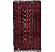 Link to 3' 4 x 5' 11 Afghan Akhche Rug