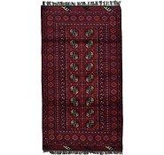Link to 3' 5 x 6' Afghan Akhche Rug