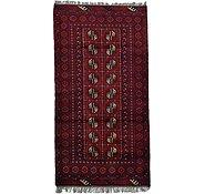 Link to 3' 4 x 6' 4 Afghan Akhche Rug