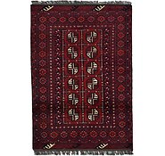Link to 3' 4 x 4' 9 Afghan Akhche Rug