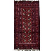 Link to Unique Loom 3' 4 x 6' 3 Afghan Akhche Rug