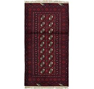 Link to 3' 5 x 6' 5 Afghan Akhche Rug