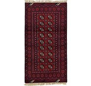 Link to HandKnotted 3' 4 x 6' 3 Afghan Akhche Rug