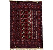 Link to 3' 5 x 4' 10 Afghan Akhche Rug