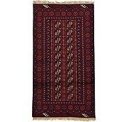 Link to 102cm x 185cm Afghan Akhche Rug