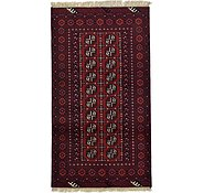 Link to 3' 5 x 6' 2 Afghan Akhche Rug