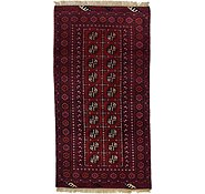 Link to 97cm x 183cm Afghan Akhche Rug