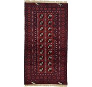 Link to 3' 2 x 6' Afghan Akhche Rug