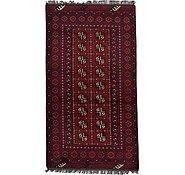 Link to 3' 5 x 6' 3 Afghan Akhche Rug