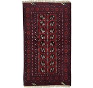 Link to 3' 5 x 5' 11 Afghan Akhche Rug