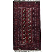 Link to 3' 5 x 6' Afghan Akhche Rug