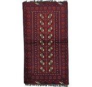 Link to 3' 3 x 6' 1 Afghan Akhche Rug