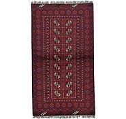 Link to 105cm x 185cm Afghan Akhche Rug
