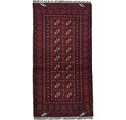 Link to Unique Loom 3' 3 x 6' 3 Afghan Akhche Rug