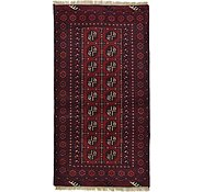 Link to 3' 5 x 6' 6 Afghan Akhche Rug