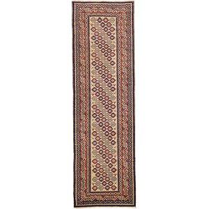 HandKnotted 3' 2 x 10' 2 Kazak Oriental Runner Rug