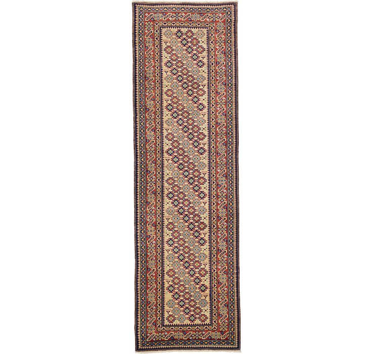 3' 2 x 10' 2 Kazak Oriental Runner Rug