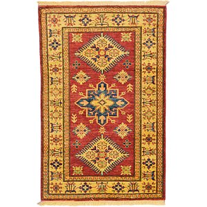 2' 6 x 3' 11 Kazak Oriental Rug