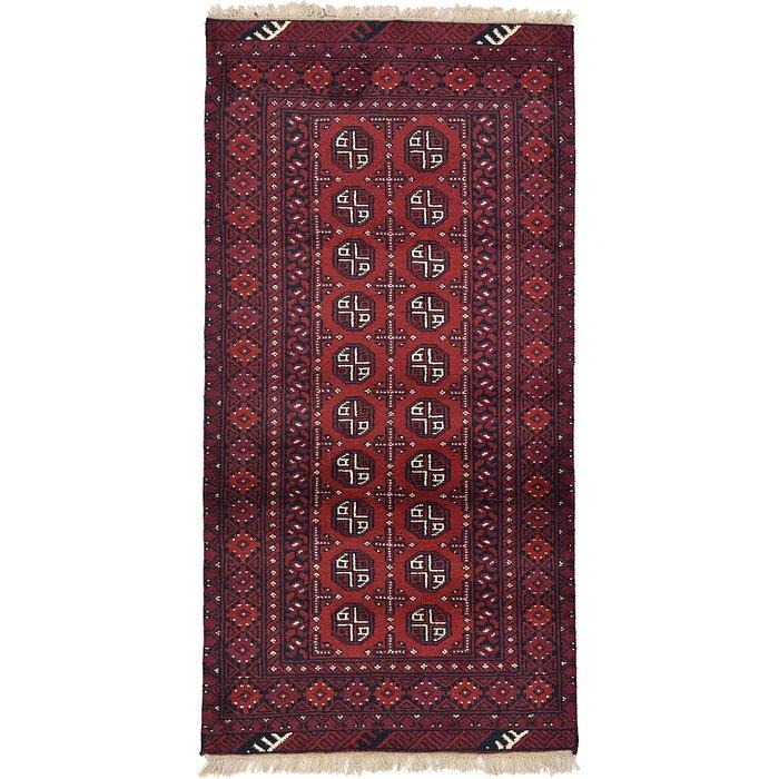 3' 2 x 6' 3 Afghan Akhche Rug