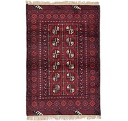 Link to 3' 3 x 4' 11 Afghan Akhche Rug