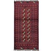 Link to 3' 5 x 6' 5 Afghan Akhche Rug