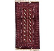 Link to 3' 3 x 6' 4 Afghan Akhche Rug