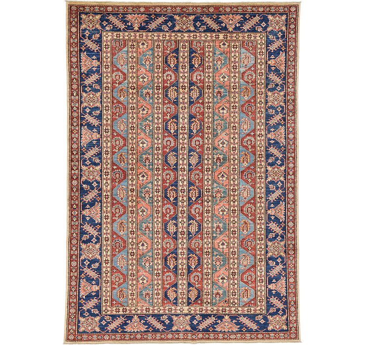 5' 4 x 7' 10 Kazak Oriental Rug