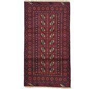 Link to 3' 5 x 6' 4 Afghan Akhche Rug