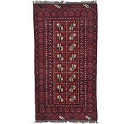 Link to 3' 3 x 6' Afghan Akhche Rug