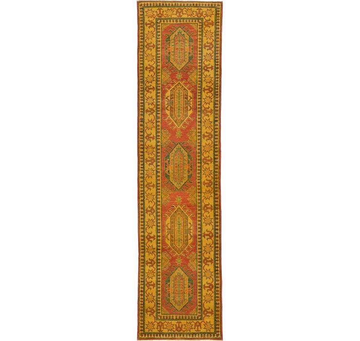 2' 7 x 10' 5 Kazak Oriental Runner Rug