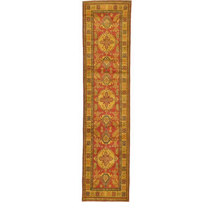 2' 9 x 11' 4 Kazak Oriental Runner Rug