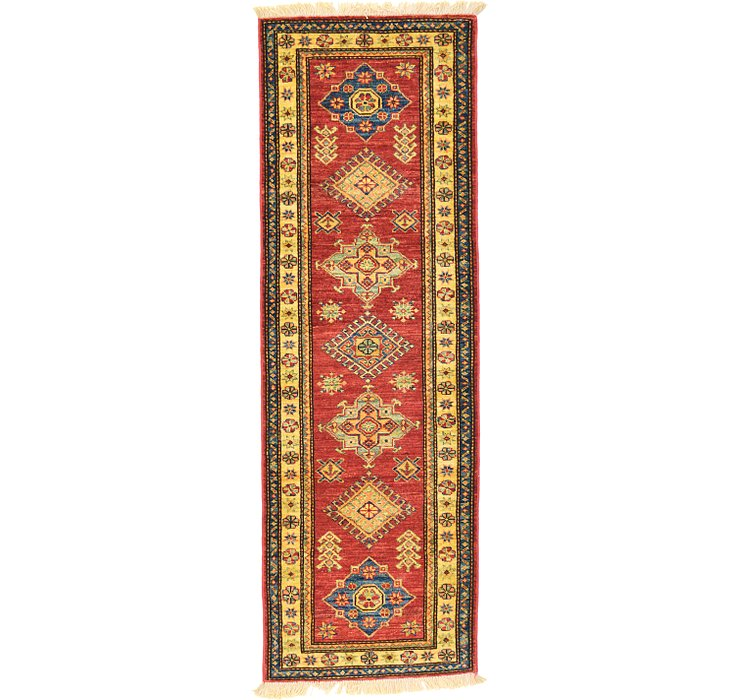 1' 11 x 5' 10 Kazak Oriental Runner Rug