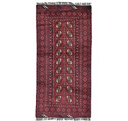 Link to 3' 3 x 6' 7 Afghan Akhche Rug